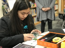 Choctaw Nation YAB Students Build Computers