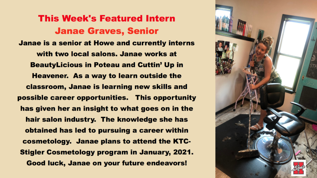 Janae Graves, Intern