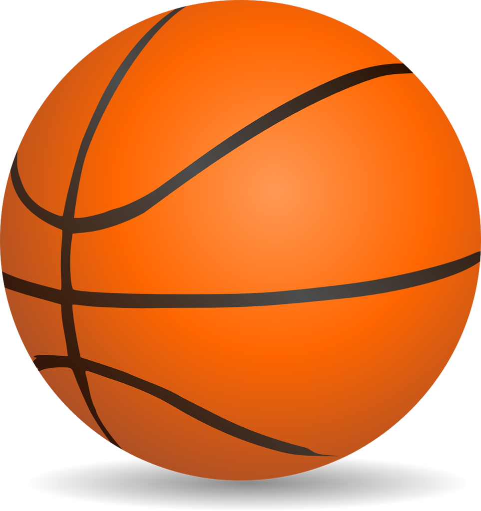 Basketball graphic: Pixabay License Free for commercial use  No attribution required