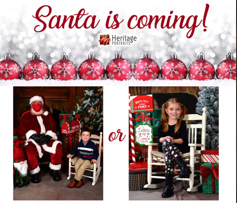 Heritage Photos Santa Pictures