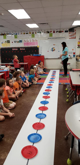 Number Lines in First Grade