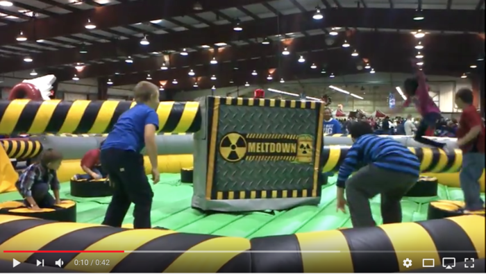 Meltdown Mechanical Inflatable