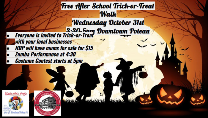Afterschool Trick or Treat