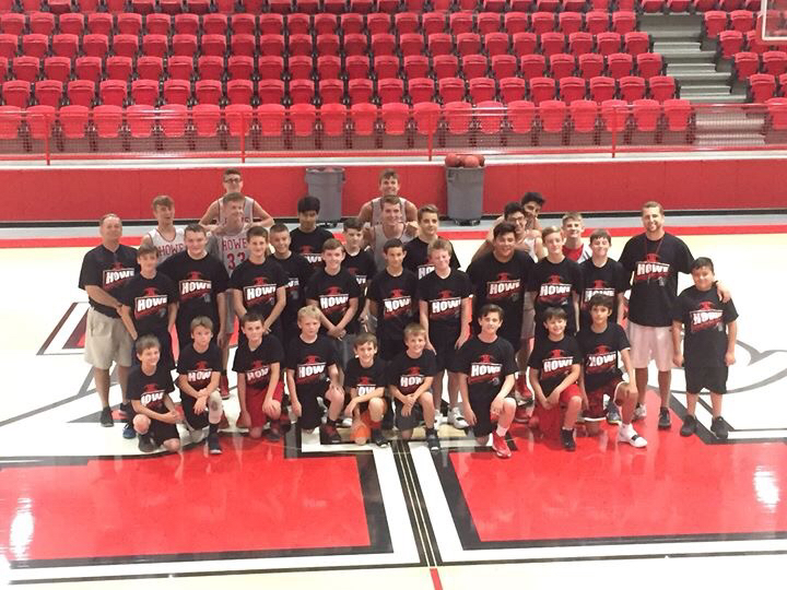 Lions Basketball Camp Group Photo
