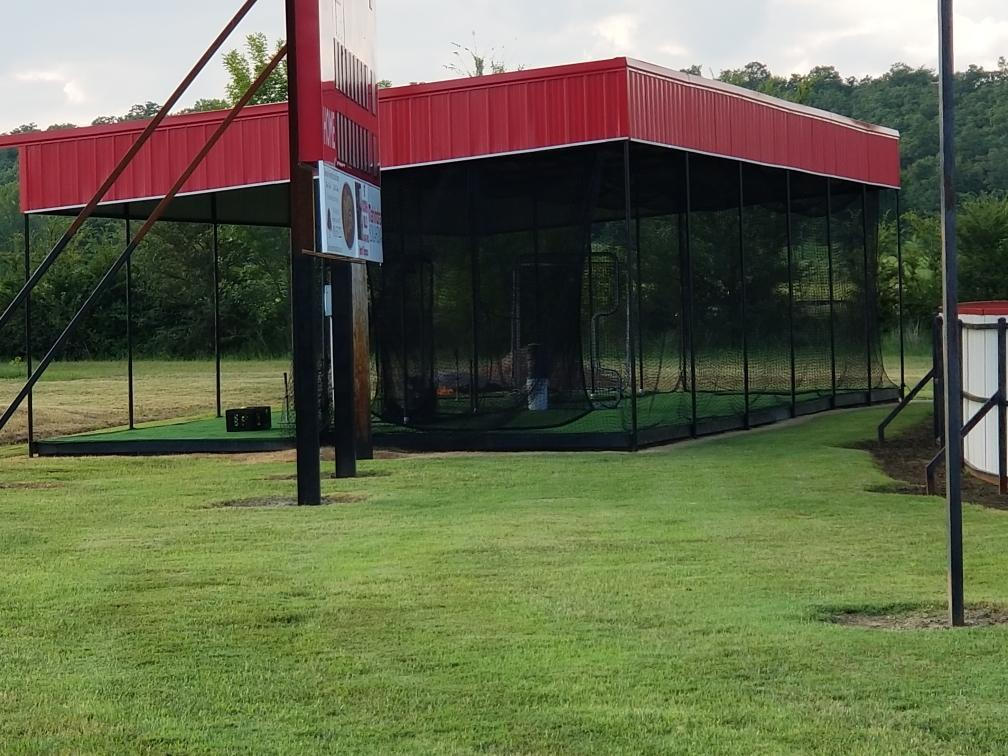 New Batting Cages for Howe Lady Lion Softball