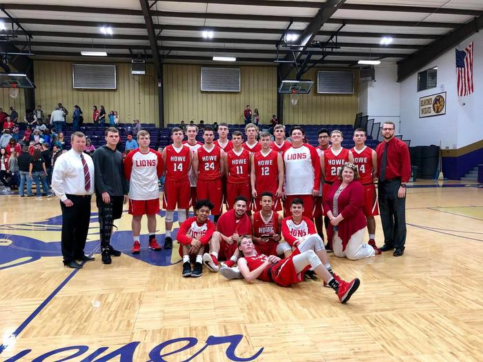 Howe Lions 3rd place LCT 2018