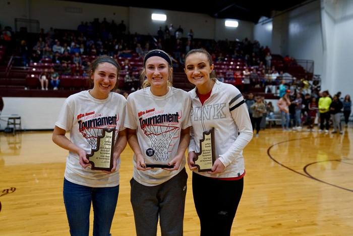 Kennedi Cooper, LCT All Tournament Team 2018, Jalei Oglesby MVP, Justyn Lynn All Tourn Team