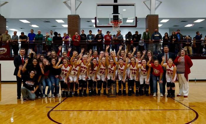 Four-pete for the Howe Lady Lions in the LCT2018 Tournament