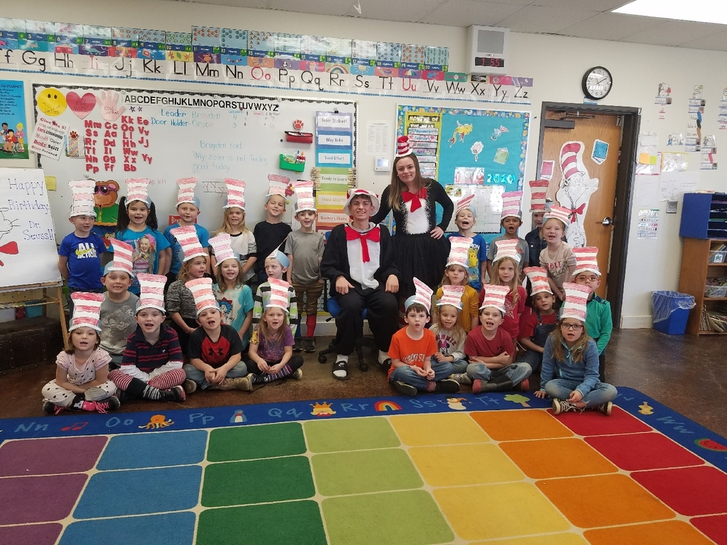 Dr. Seuss's birthday!