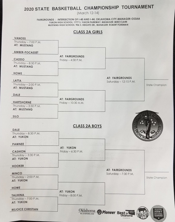 Class 2A Bracket State Championship Tournament