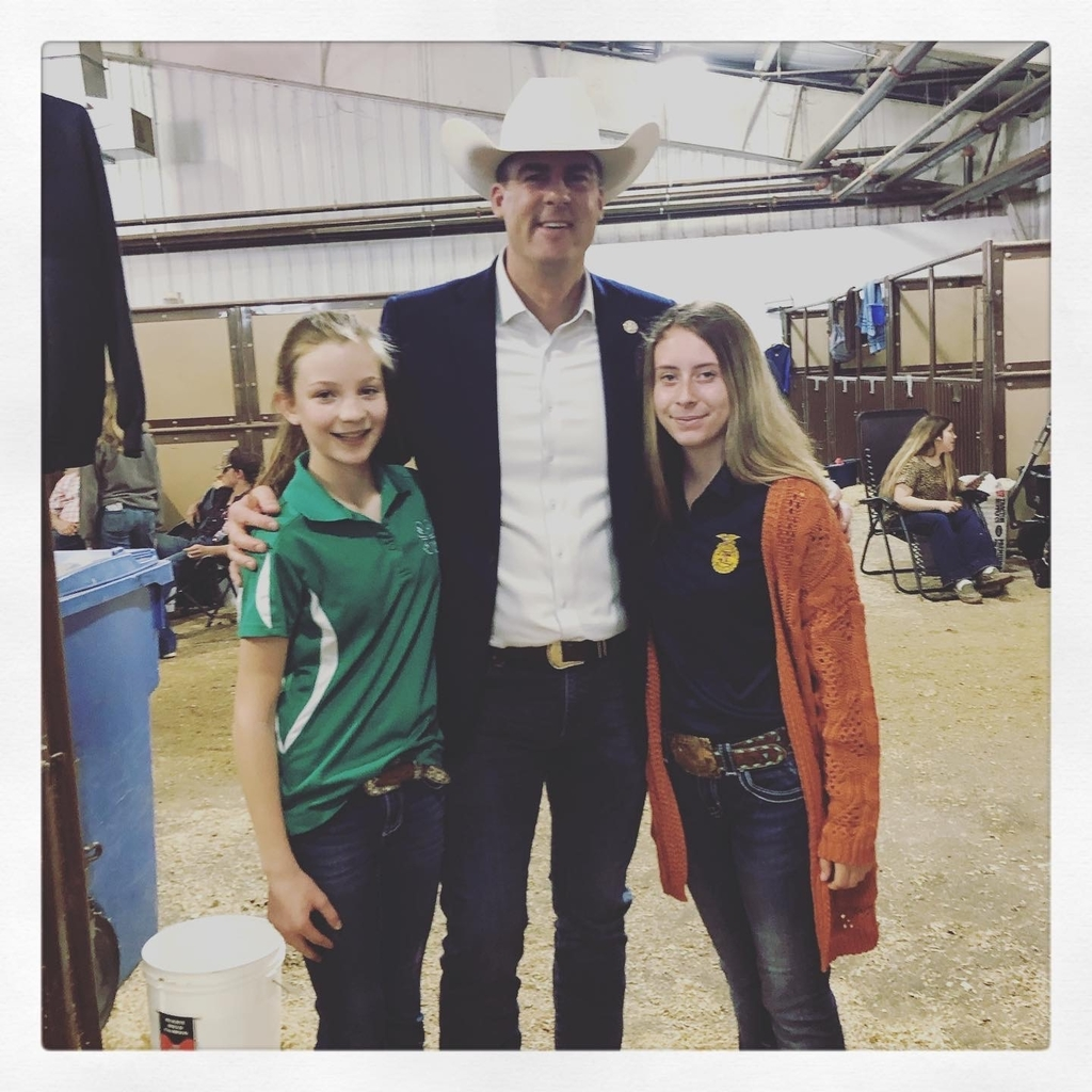 Gov Stitt and Howe FFA