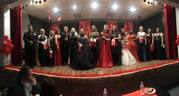 Mr & Miss HHS Pageant Contestants